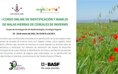 Más de 100 profesionales participan en el 'I Curso online de identificación y manejo de malas hierbas de cereales de invierno'