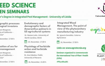 Weed science open seminars