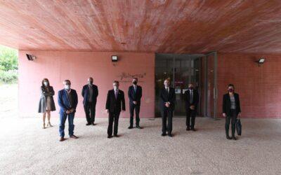 Visita del conseller d'Empresa i Coneixement, Ramon Tremosa, a les instal·lacions d'Agrotecnio